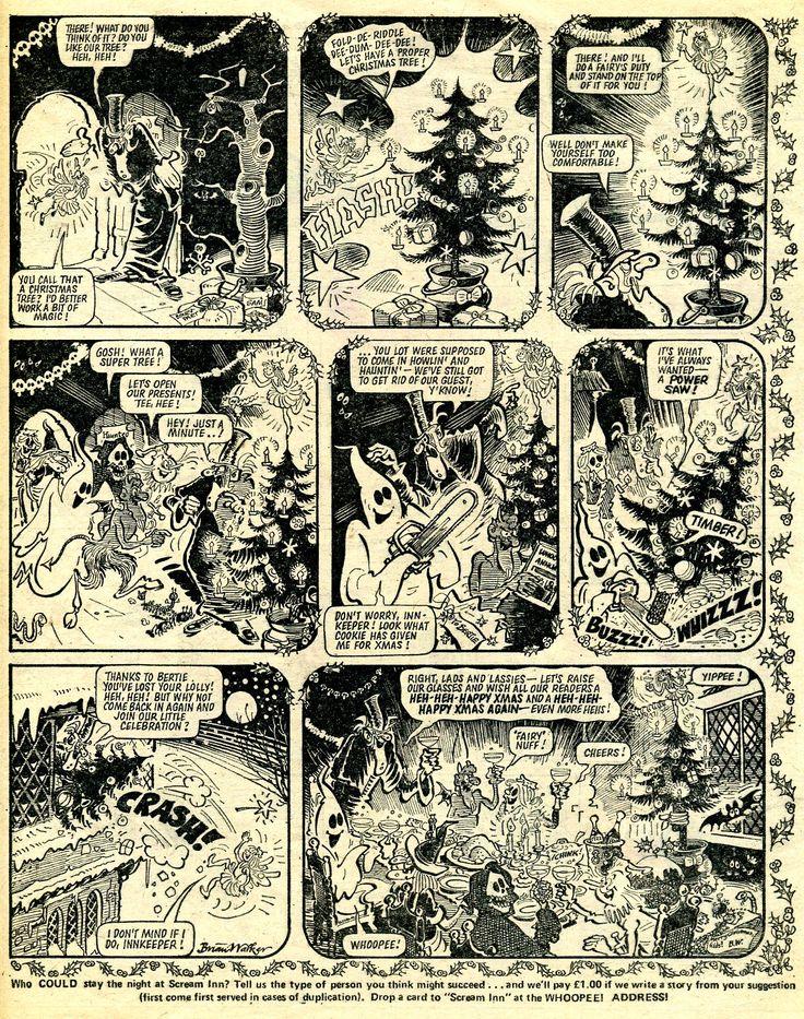 Scream Inn - Brian Walker. Whoopee! Christmas 1976