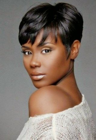 African American Women Short Haircuts