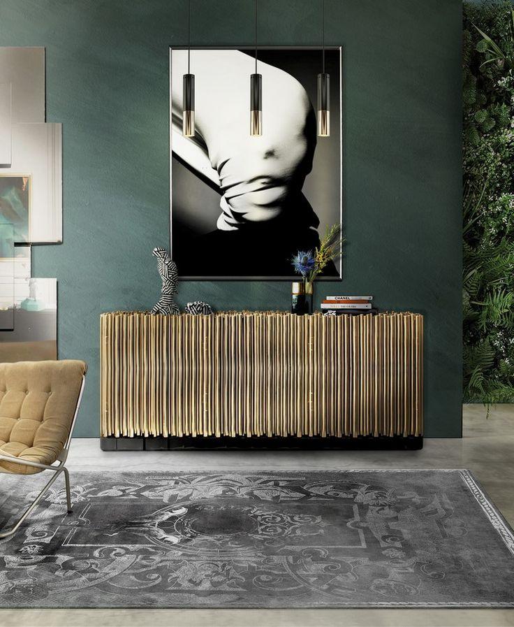 The Symphony seeks to re-interpret classic elements through contemporary design and cutting-edge technology | www.bocadolobo.com #bocadolobo #luxuryfurniture #exclusivedesign #interiordesign #designideas #contemporarydiningroom #sideboarddesign #symphony