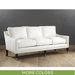 Griffin Sofa with Pewter Nailhead