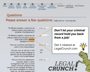 how to get your criminal record expunged