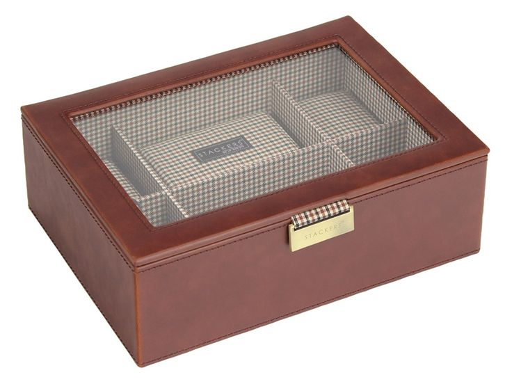 Buy this personalised watch box, Stackers Tan & Check at We Get Personal at the price of £80.00. If you are looking to buy a personalized gift this can be a great option. Source: http://www.wegetpersonal.co.uk/watch-box-stackers-tan-check.html