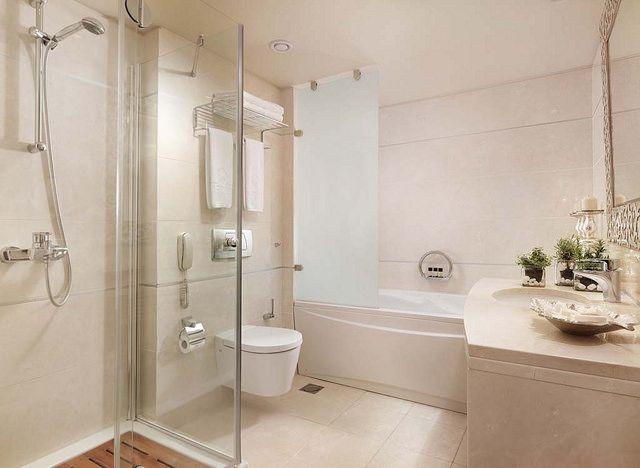Executive Suites bathroom  - Apollon Suites  http://divani-apollonsuites.com/
