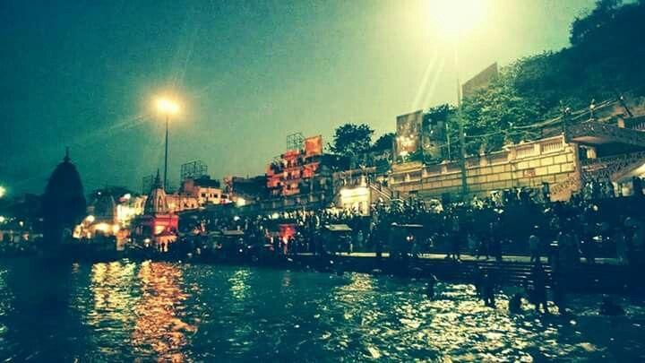 Image Captured at Haridwar