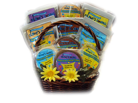 9 best gluten free easter baskets images on pinterest easter gluten free cookie sampler easter gift basket negle Image collections