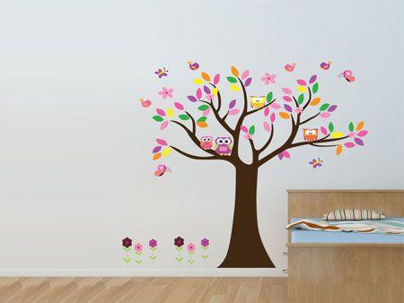 Minder geschikt als huisdier, maar wel erg leuk als muursticker. Met deze boom vol met uilen vrolijk je je kamer op in een handomdraai. ✓ Snelle levering