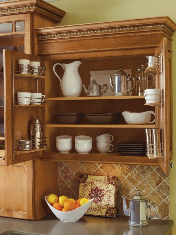17 best images about thomasville cabinetry on pinterest for Additional shelves for kitchen cabinets