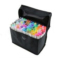 30/36/40/60/80Colors Art Marker Set Oily Alcoholic Dual Headed Artist Sketch Copic Markers Pen For A