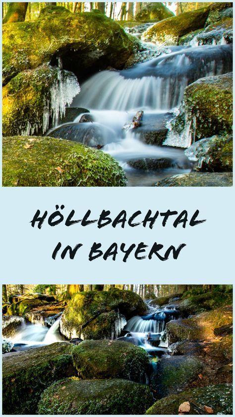 Das Höllbachtal im Bayerischen Wald