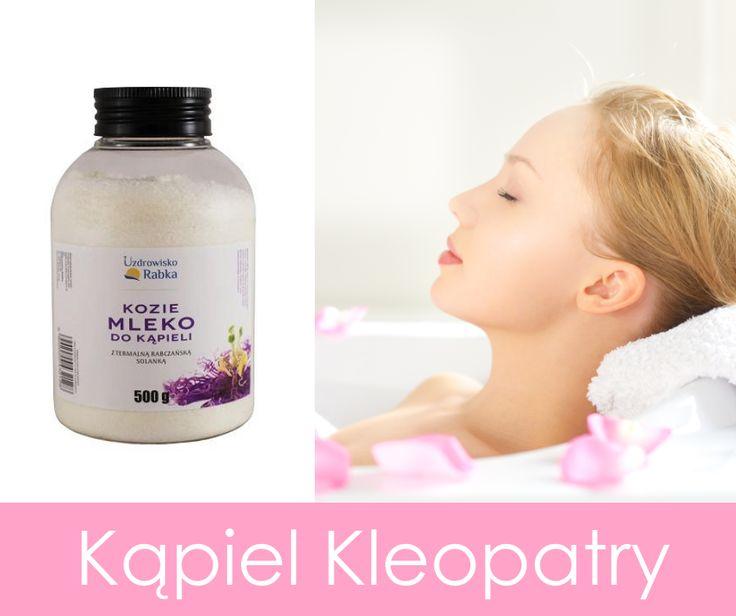 Kąpiel w kozim mleku z dodatkiem rabczańskiej solanki sprawi, że poczujesz się jak królowa! :) http://sklep.uzdrowisko-rabka.pl/kozie-mleko-do-kapieli-500g.html