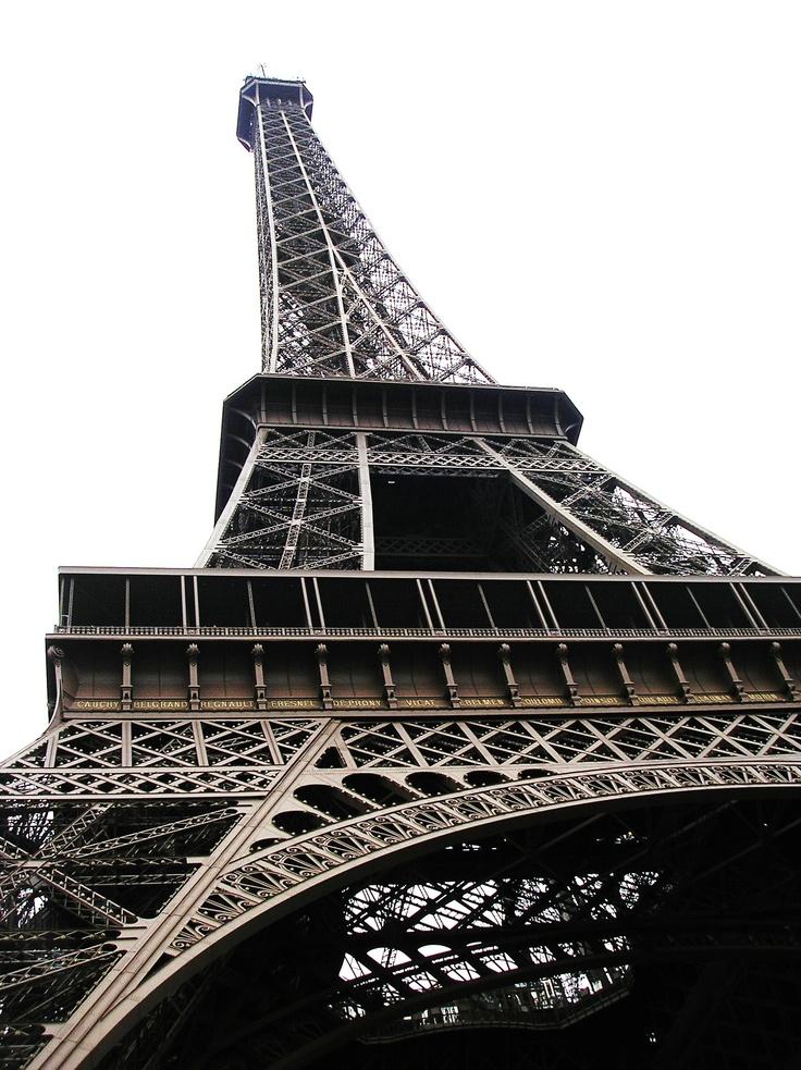 The Eiffe Tower of Paris