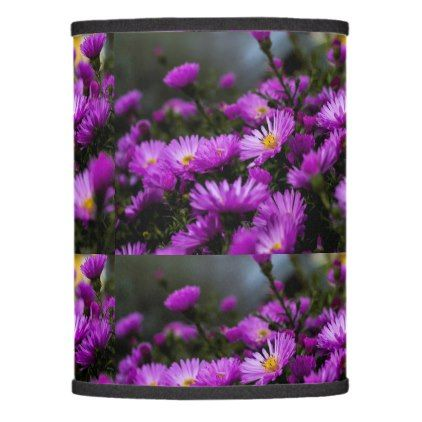 Women's trendy purple flower lamp shade - trendy gifts cool gift ideas customize