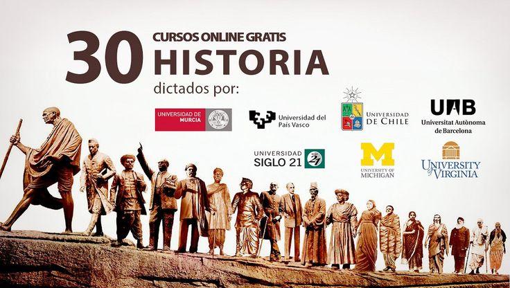 Esta es tu gran oportunidad para participar en uno de los cursos virtuales y gratuitos de Historia dictados por las mejores universidades del mundo. ¡Es gratis!