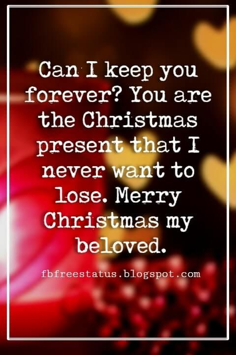 Christmas Love Quotes Messages For Her Him To Wish Love