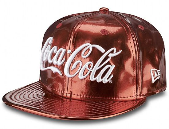 2014 brought us several Coke headwear releases from NEW ERA. The Coca Cola Metallic 9Fifty Snapback is the closest the to the real thing in a can.