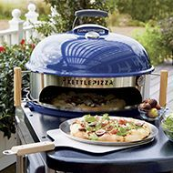 Weber ® Blue Performer Deluxe Charcoal Grill | Crate and Barrel