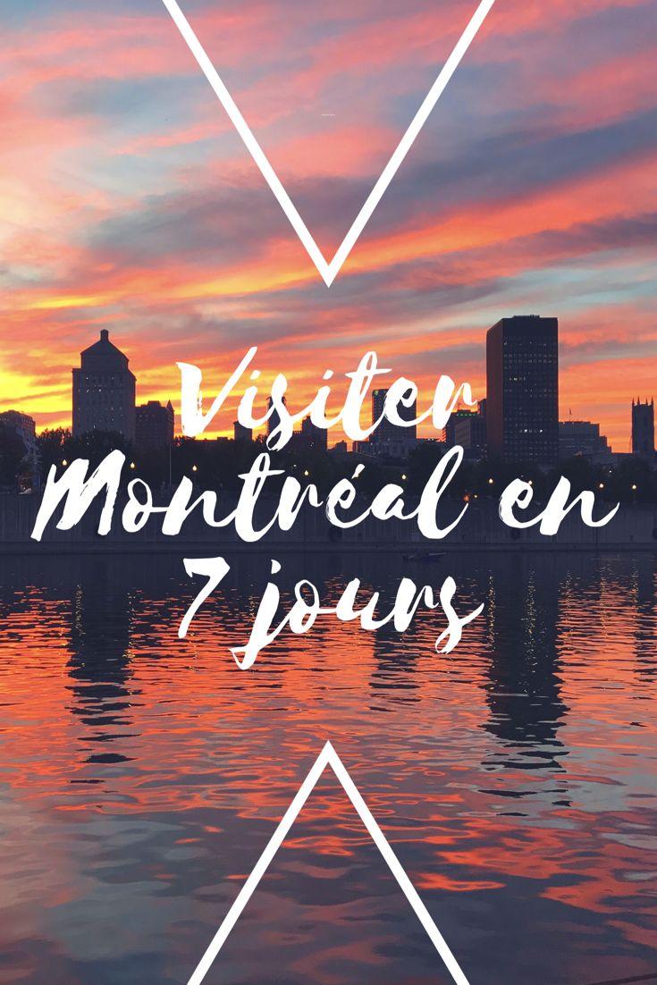 Visiter Montréal en 7 jours Travel guide. Mes incontournables à visiter et restaurants que je recommande.