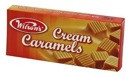 Wilsons Cream Caramels