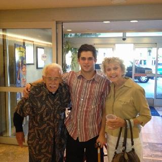 Jonathan with Flavio and Carrie 2012