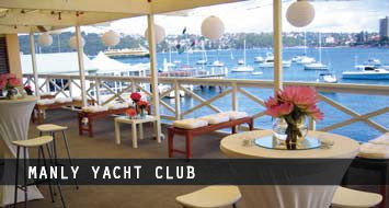AVA PARTY HIRE furniture at Manly Yacht Club http://www.avapartyhire.com.au/product/tables-for-hire Call us on 9938 5599 for a quote