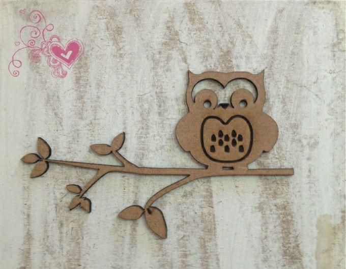 Nursery Décor - Owl on Branch