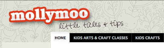 MollyMoo is a mum's blog focused on children – their drawings, craft ideas, handmade and pretty things, fab and stylish clothes, toys and book reviews! by Michelle (Limerick). Winner of Best Craft Blog, Best Designed Blog and Best Personal Blog in the 2012 Blog Awards Ireland.