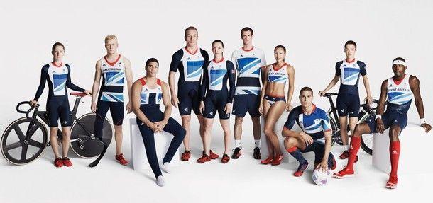 ロンドン五輪イギリス選手団のユニフォーム画像