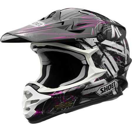 Dirt Bike Shoei VFX-W Helmet - Crosshair   MotoSport