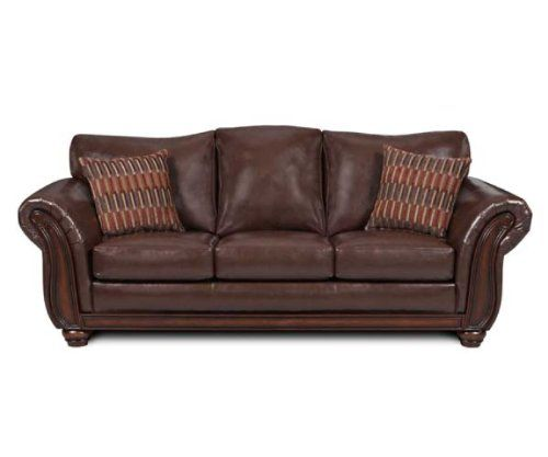 Galleria Furniture Oklahoma City: Simmons Upholstery Santa Monica Vintage Queen Size Leather