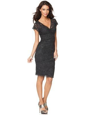 Le Chateau's website is f-ed up right now but this is exactly the dress except is only $129 at Le Chateau.