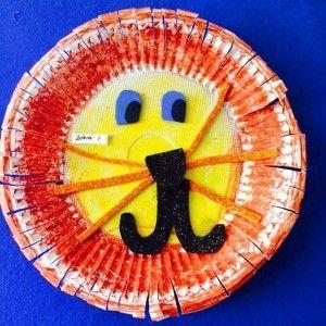paper plate lion craft  (2)