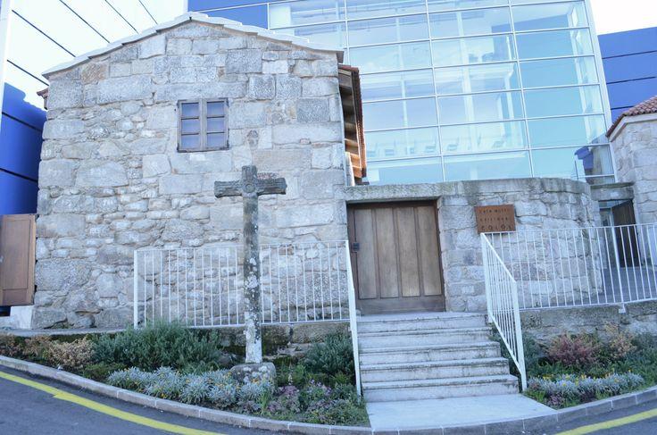 La Casa da Crus, donde nació Cristóbal Colón en Portosanto de San Salvador de Poio, Pontevedra, Galicia, España. Hoy aloja el Museo Colón de Poio.