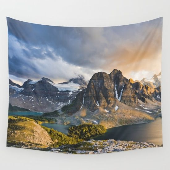 Mount Assiniboine Provincial Park Wall Tapestry