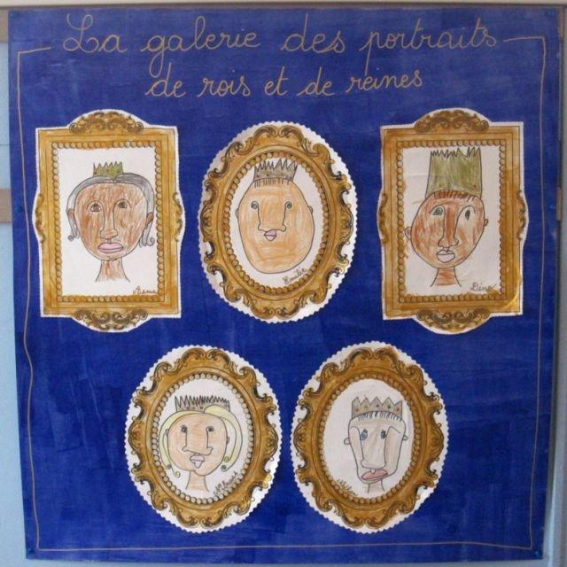 Galerie de portraits royaux !