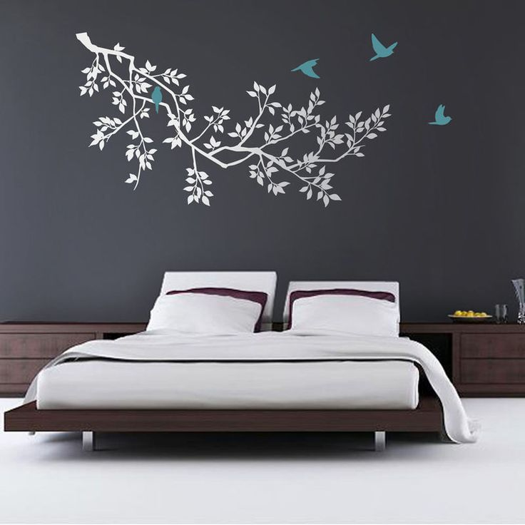 The bird is powered by its own life and by its motivation. #homedecor #walldecal #birds #furnishturf