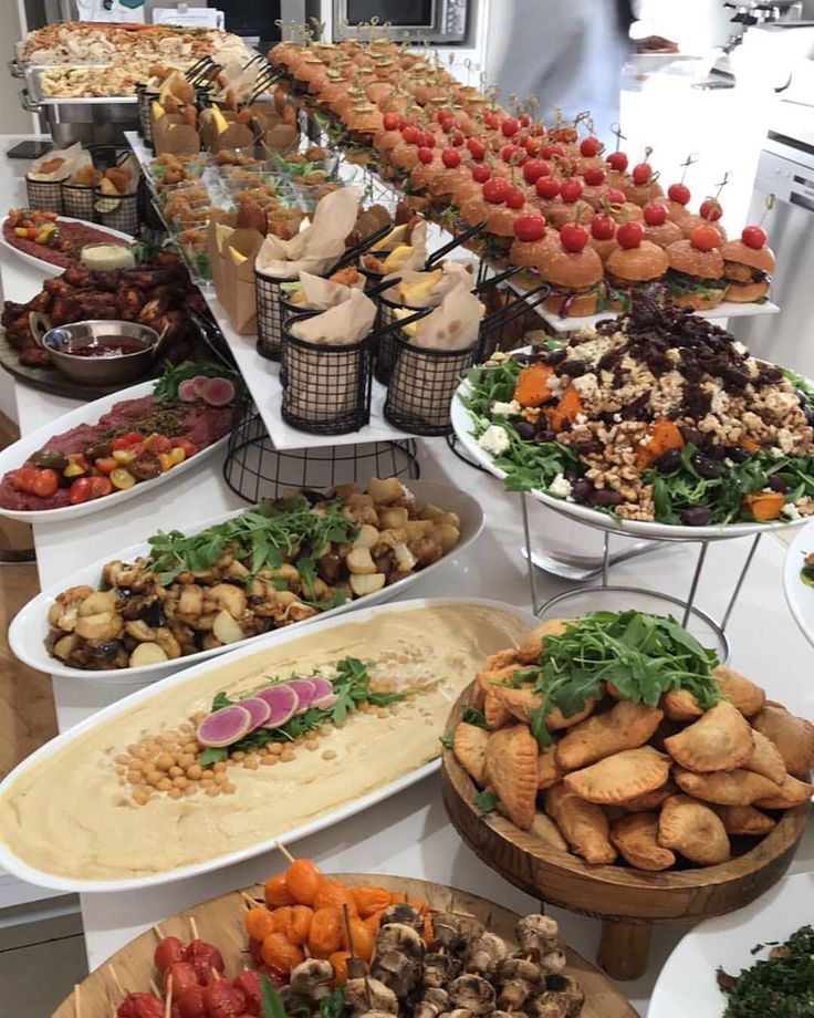 Birthday Party Spread From The Weekend #events #catering