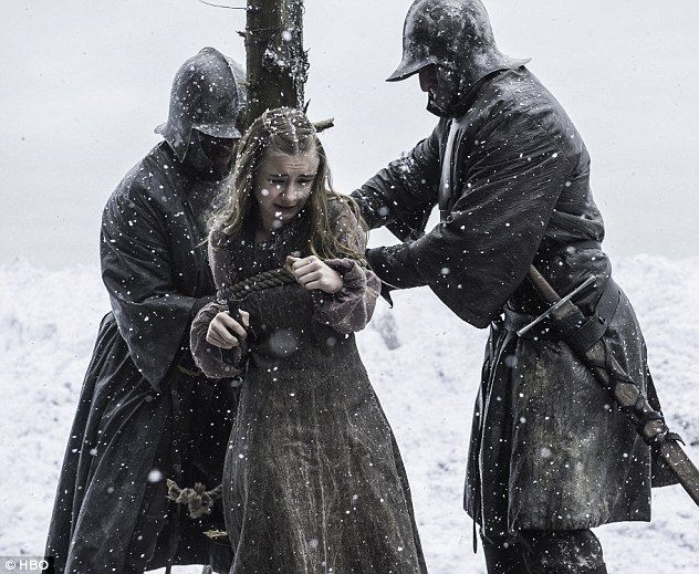 The ultimate sacrifice: In his pursuit of power and progress for his army's march on Winterfell, last week's episode saw StannisBaratheon watch on as his young daughter Shireen was burnt at the stake