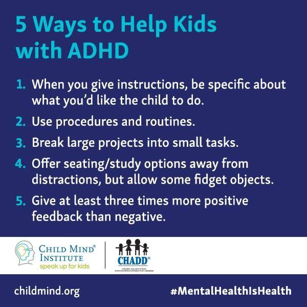 5 maneras de ayudar a tu hijo con Trastorno de Deficit de Atencion. O a cualquier niño con  dificultad para concentrarse.