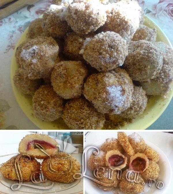 Lena - Galuste cu prune (fara cartofi)
