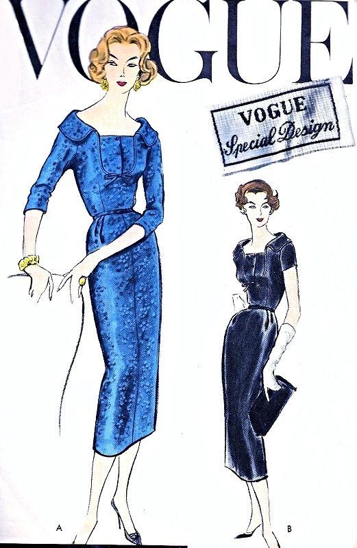17+ best images about Vintage Patterns - Vogue Special Design on Pinterest   Sewing patterns ...