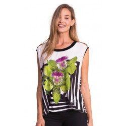Camiseta Desigual Floral