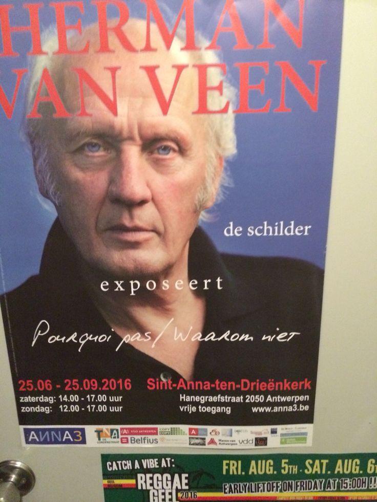 Expo Herman Van Veen in Antwerpen tot eind september 2016