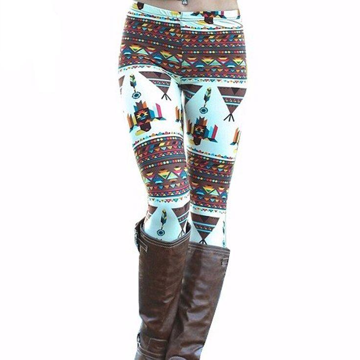 Harajuku Printed Leggings Christmas Snowflake Pattern //Price: $13.99 & FREE Shipping //     #girls #activewear #body