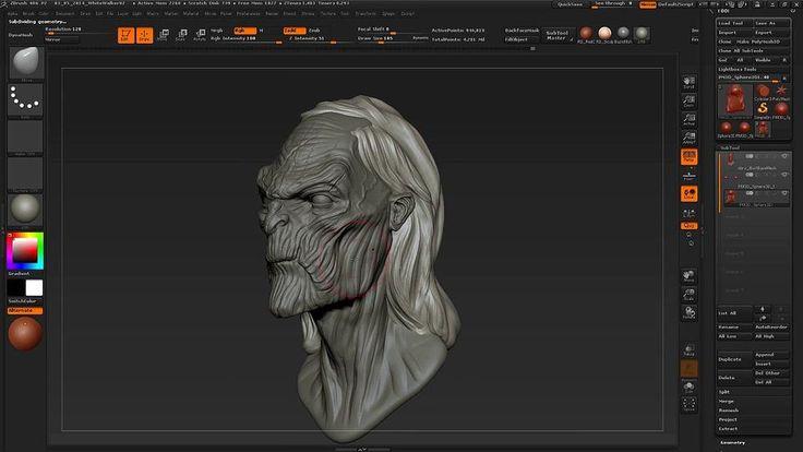 Sculpting a White Walker in ZBrushComputer Graphics & Digital Art Community for Artist: Job, Tutorial, Art, Concept Art, Portfolio