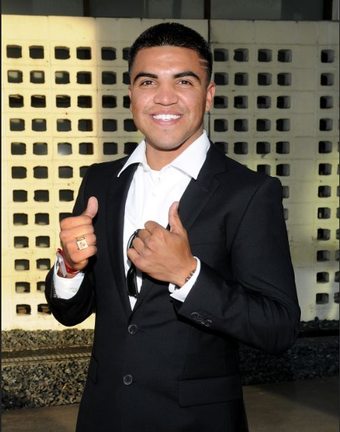 Boxer Victor Ortiz, now on Dancing With the Stars. What a cutie!