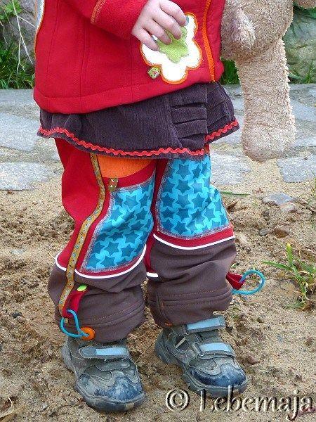Tipps zum Nähen einer Softshell-Hose für Kinder