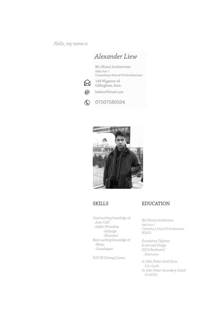 128 Best Cv - Resume - Portfolio Images On Pinterest | Portfolio