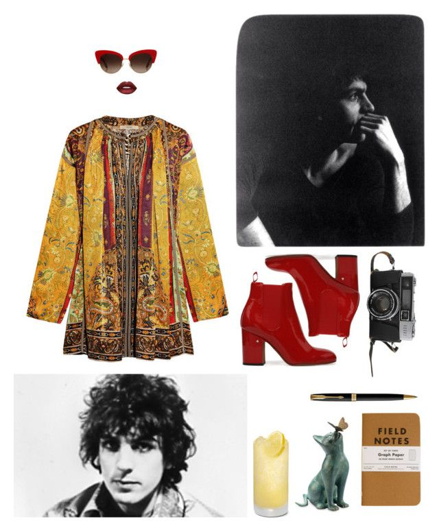 """SYD💛"" by mariapauladiaz142 on Polyvore featuring Etro, Improvements, Parker, Dolce&Gabbana and Lime Crime"