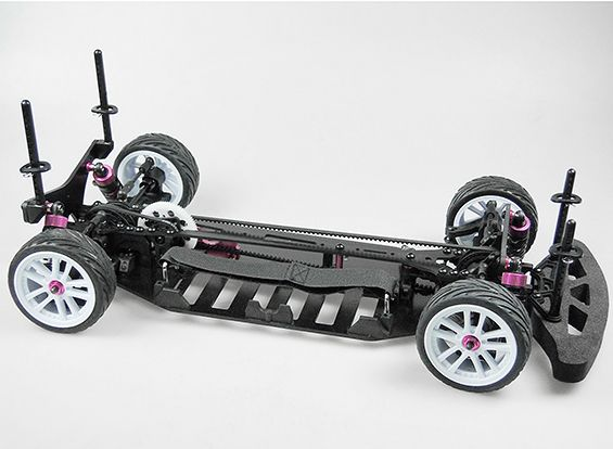 Turnigy TD10 4WD szíjhajtású túraautó KIT