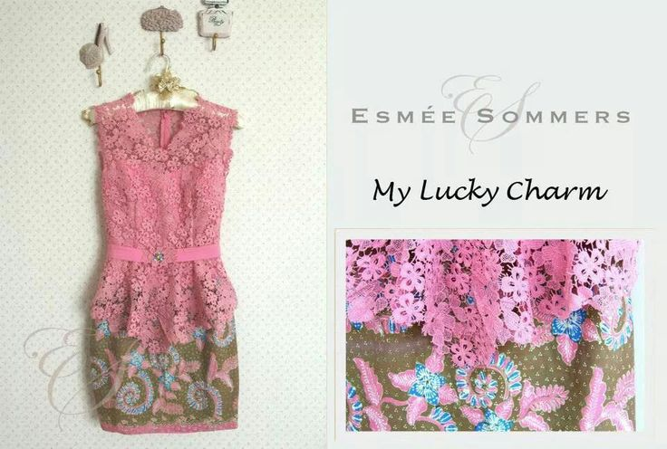simple yet beautiful pink kebaya